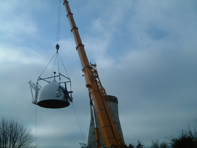 lifting Holgate cap 28/11/09